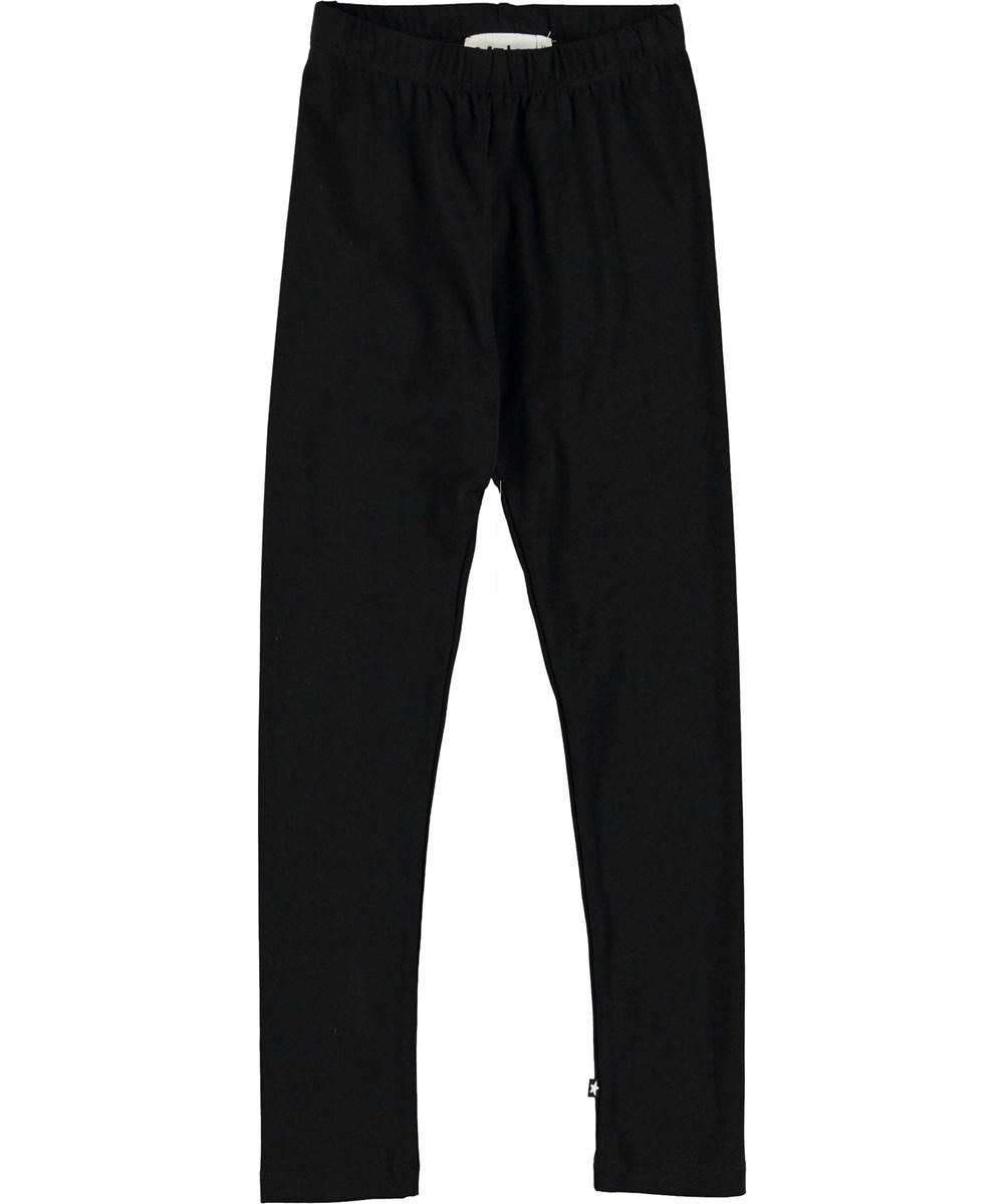 Nica - Black - Black leggings.