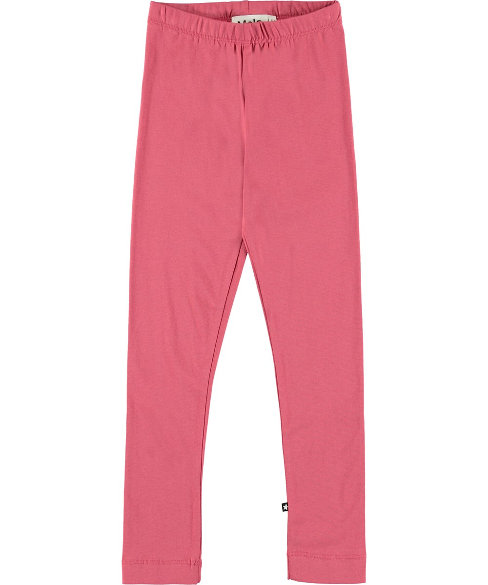 Nica - Fairy Blossom - Dark rose leggings.