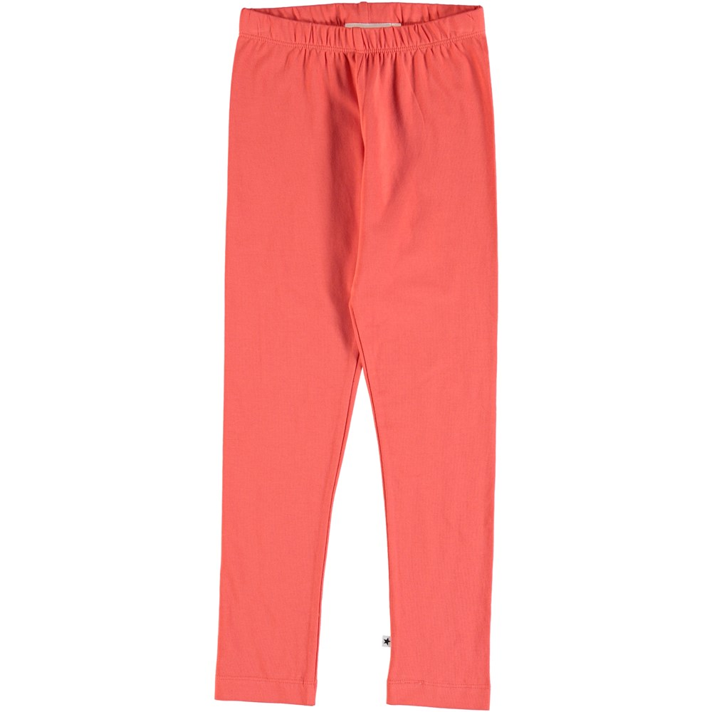 Nica - Hot Coral - Leggings