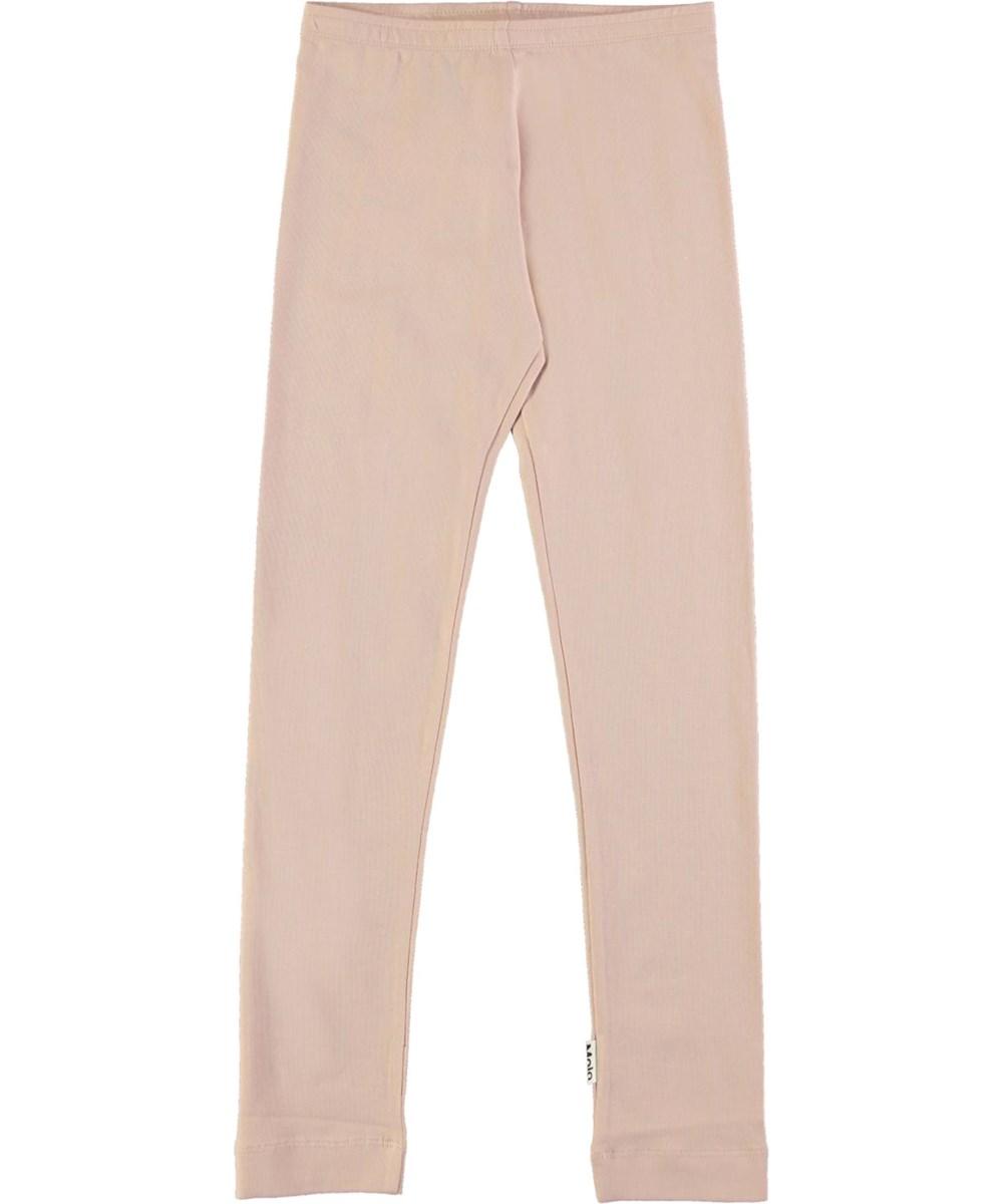 Nica - Petal Blush - Rose organic leggings
