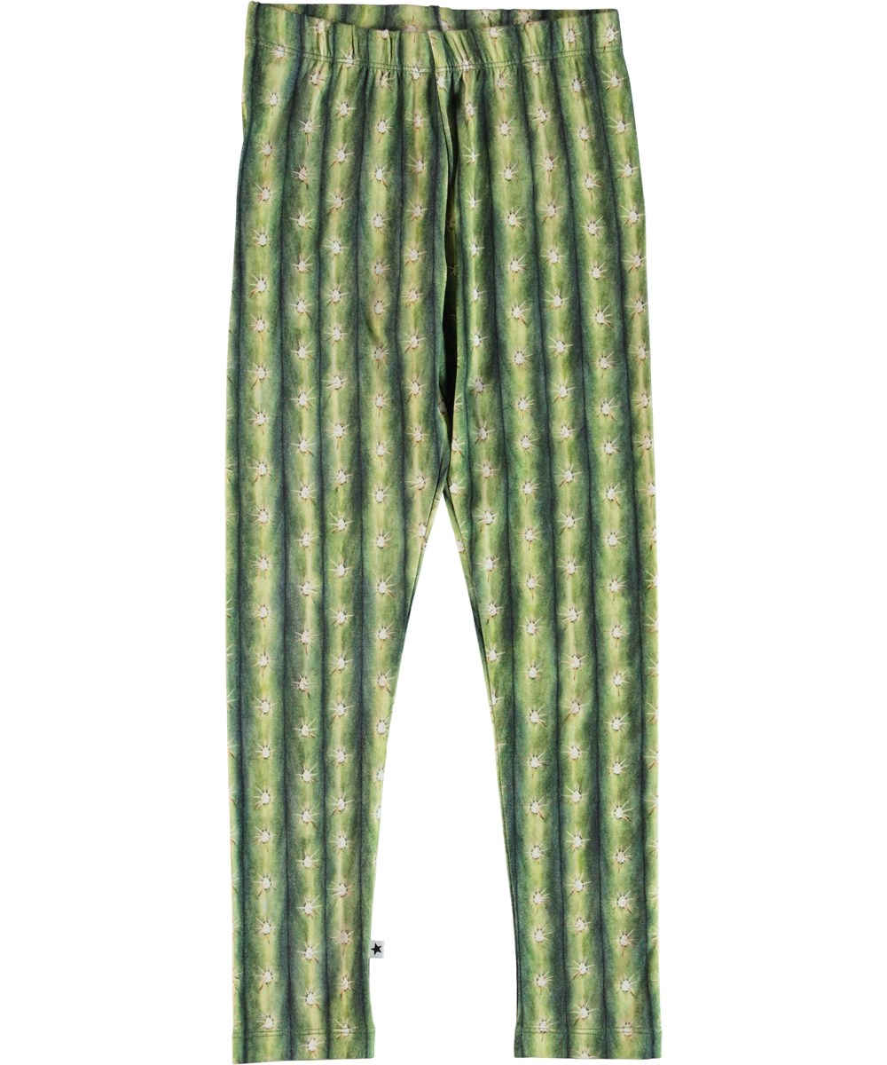 Niki - Cactus Stripe - Leggings