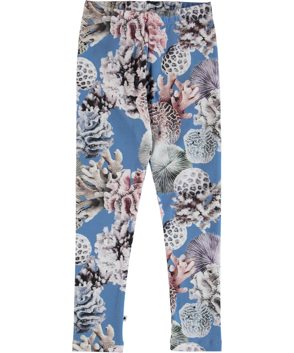 Niki - Coral Reef - Leggings