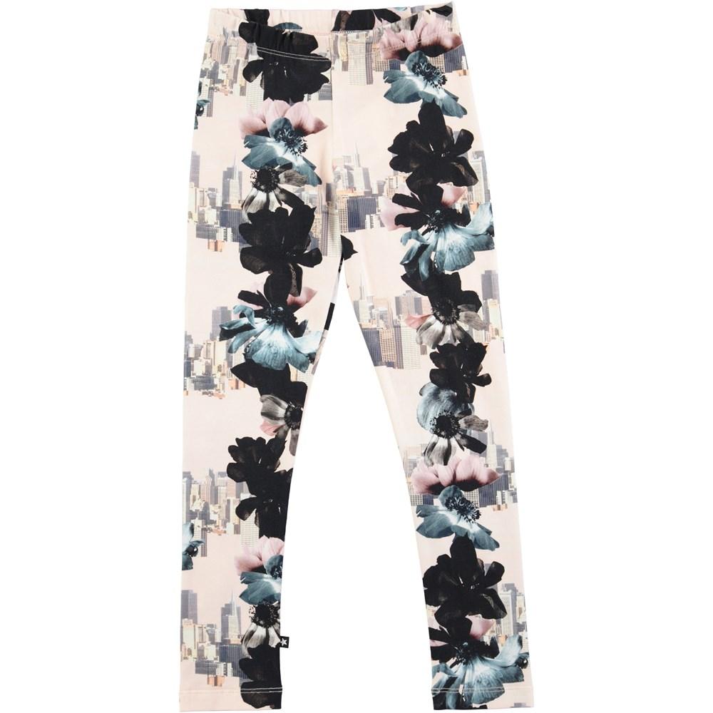 Niki - Dreamscape - leggings with flowers