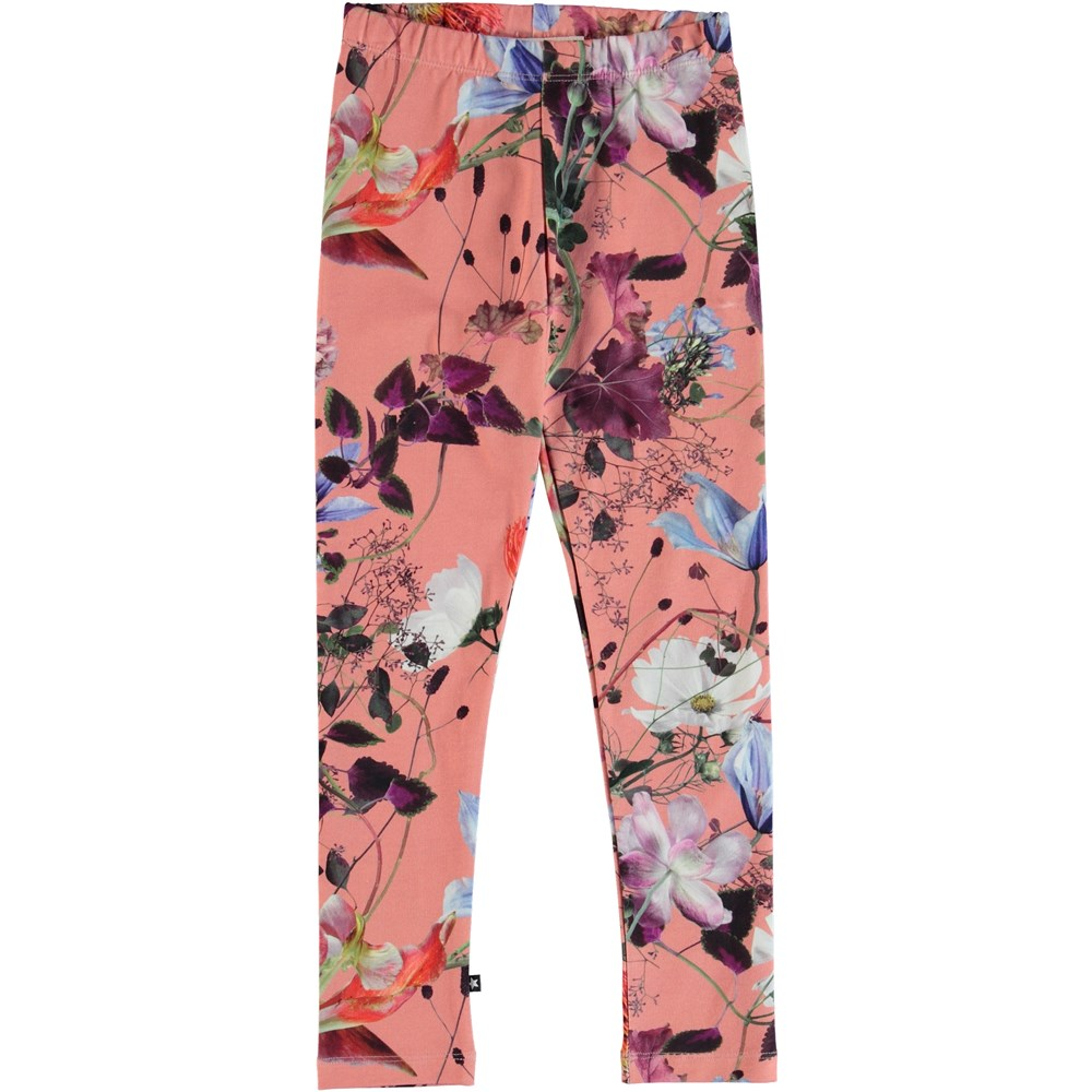 Niki - Flowers Of The World - Flower leggings.