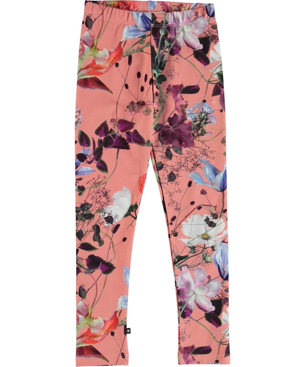 Niki - Flowers Of The World - Flower leggings.