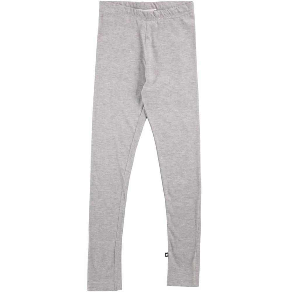 Niki - Grey Melange - grey leggings