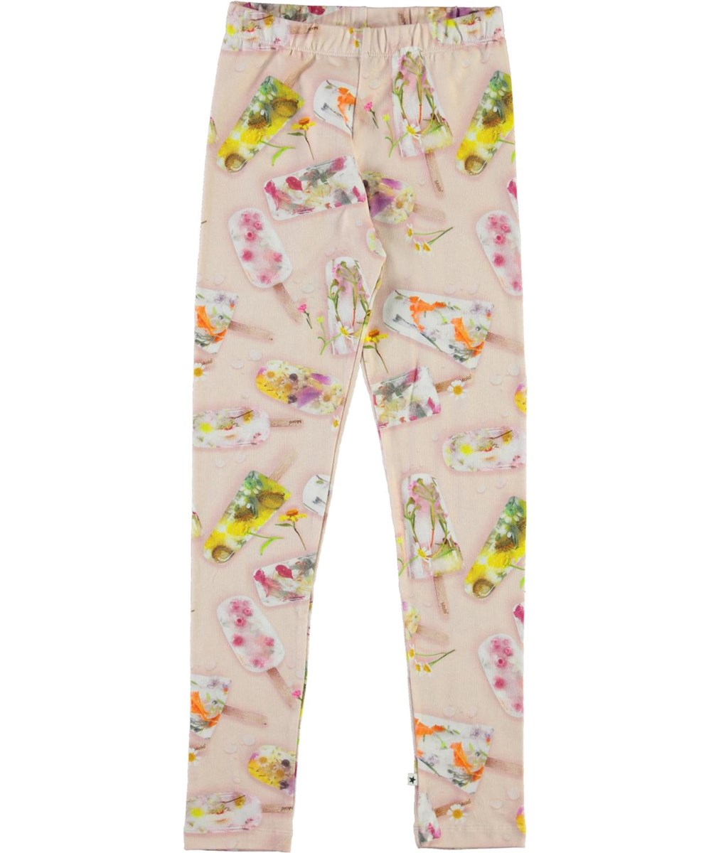 Niki - Ice Lollies - Organic leggings with ice cream