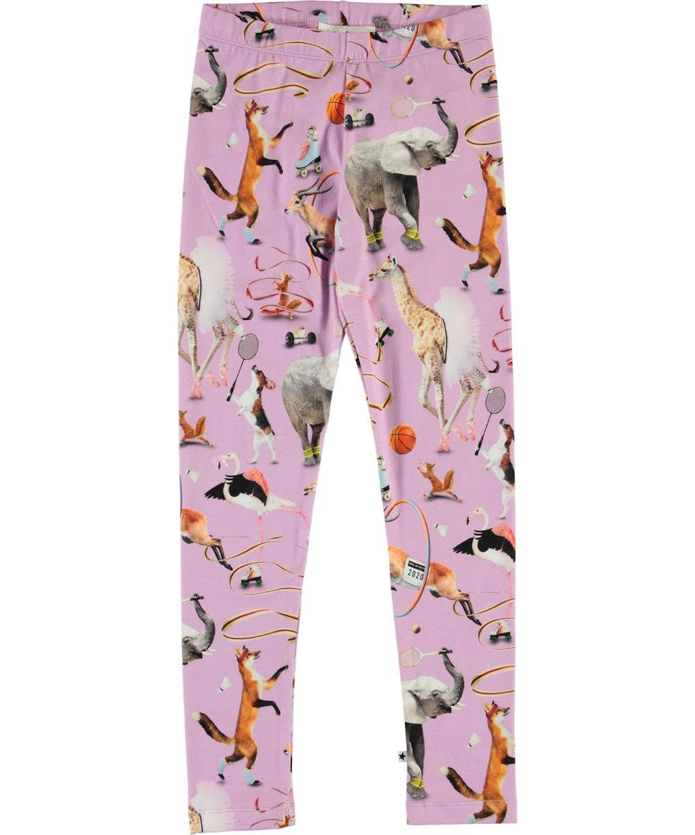 Niki - Made For Motion - Organic leggings with sport and animals