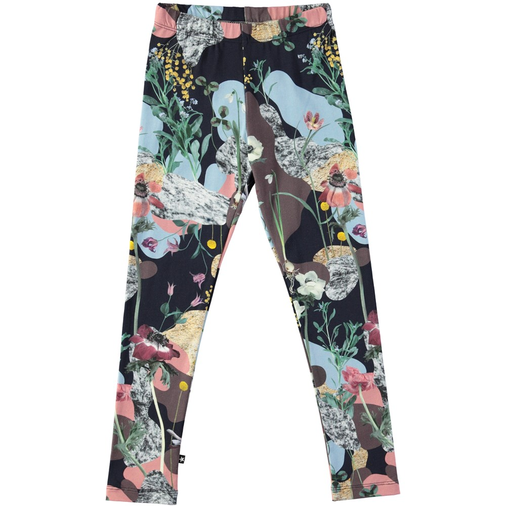 Niki - Northern Spirit - Long leggings with digital northern spirit print
