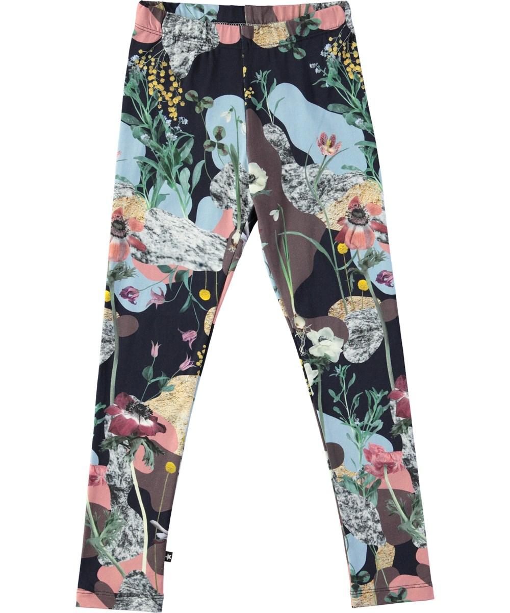 Niki - Northern Spirit - Long leggings with digital northern spirit print