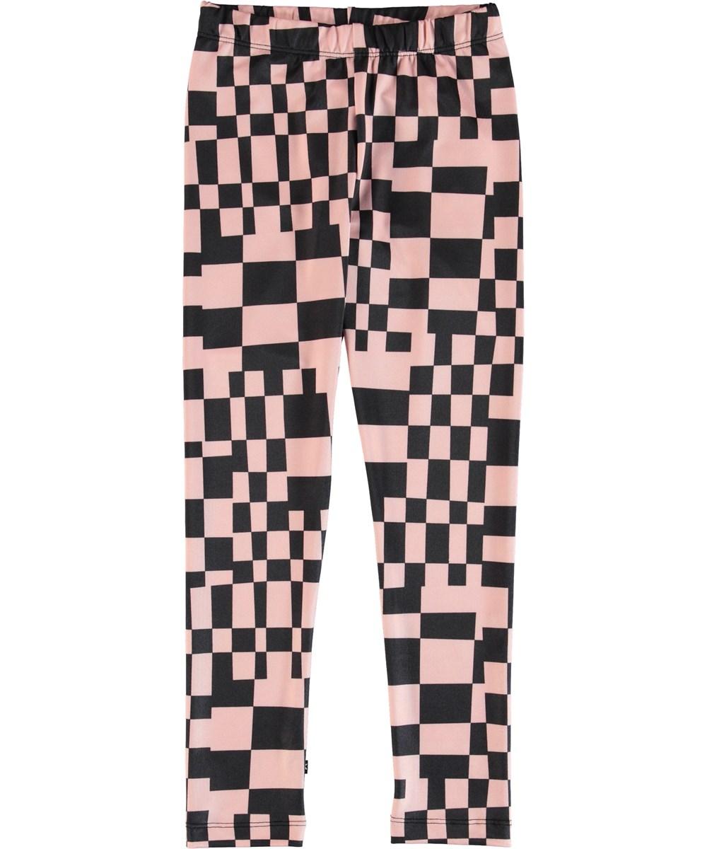 Nikia - Grid Check - Leggings