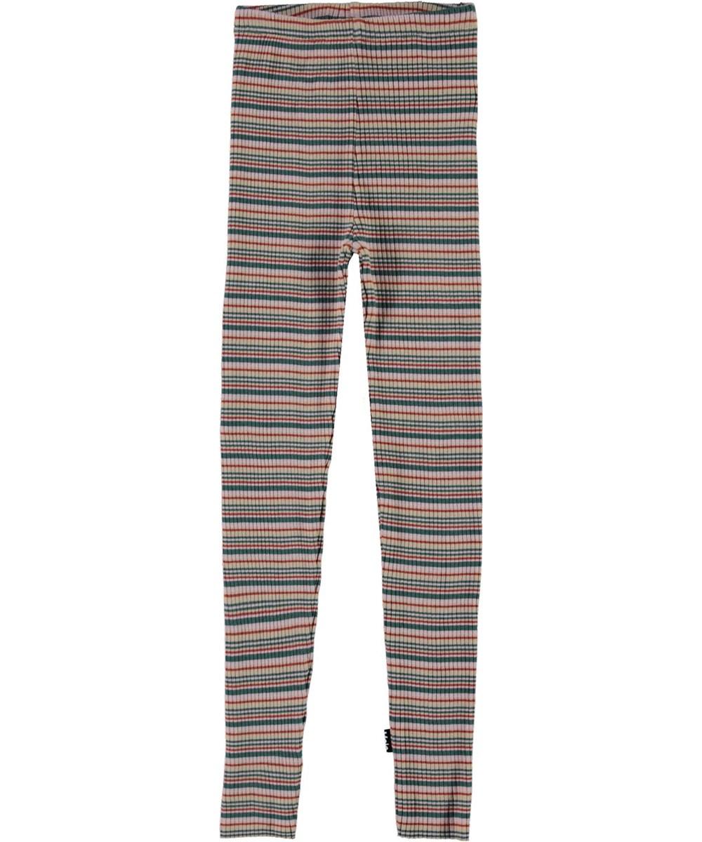 Nikita - Multistripe - Multi-coloured leggings with stripes
