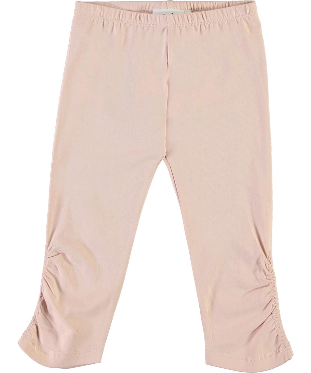 Nila - Petal Blush - Short, rose organic leggings