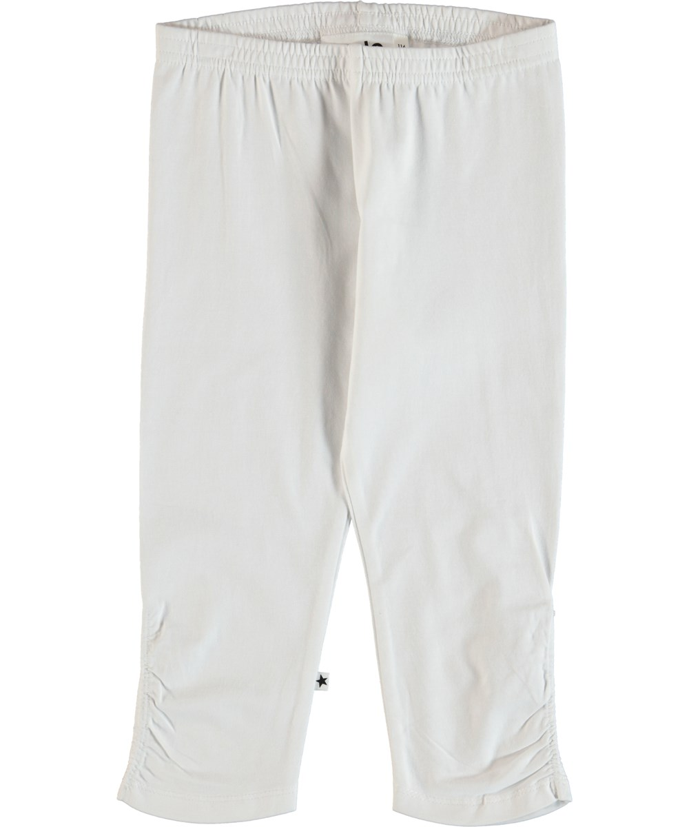 Nila - White - Leggings