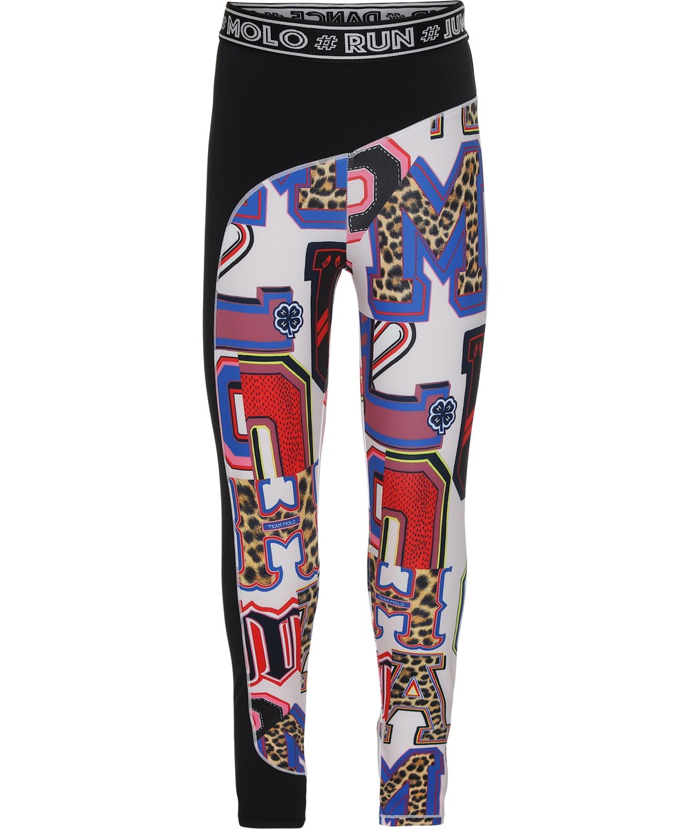 Olympia - Typo - Sports leggings with letter print
