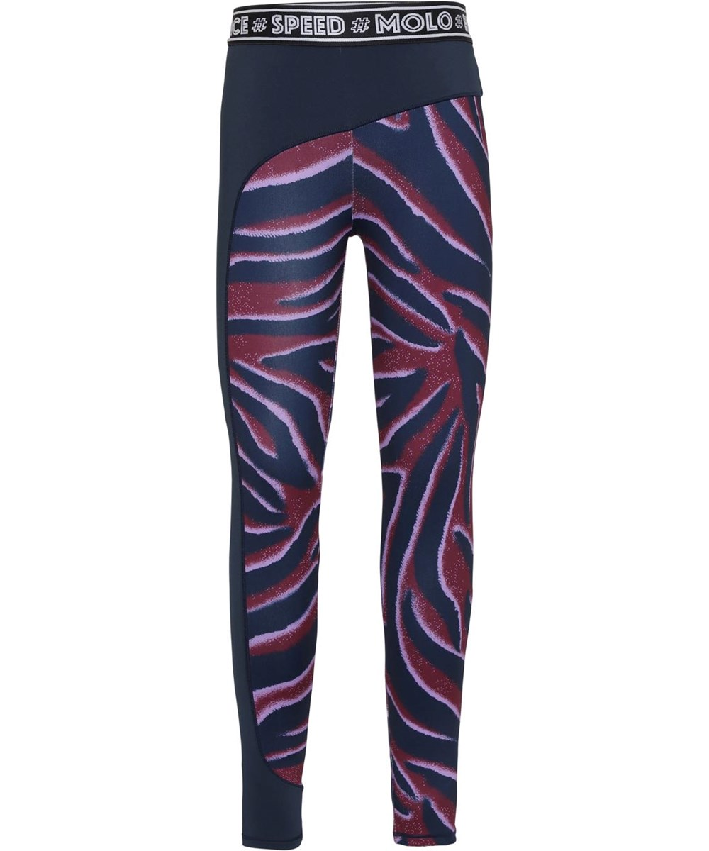 Olympia - Zebra Stripes - Sport leggings with zebra print