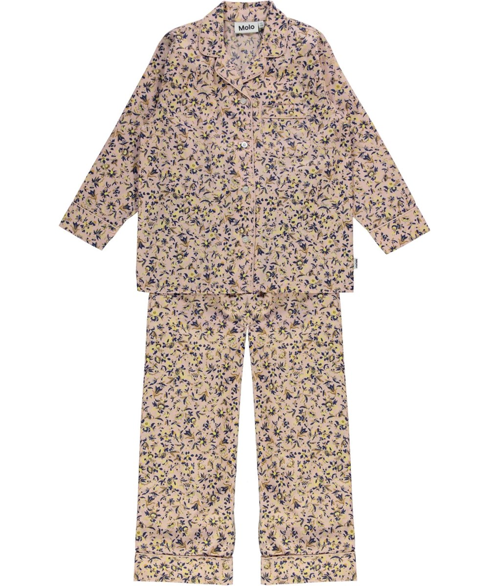 Lex - Pink Blossom - Pyjamas set in pink with flowers