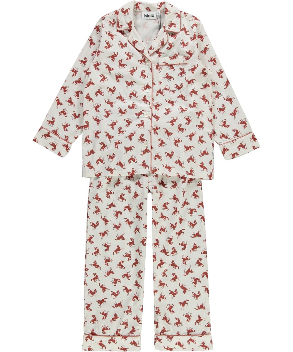 Lex - Small Horses - Organic pyjamas with horse print