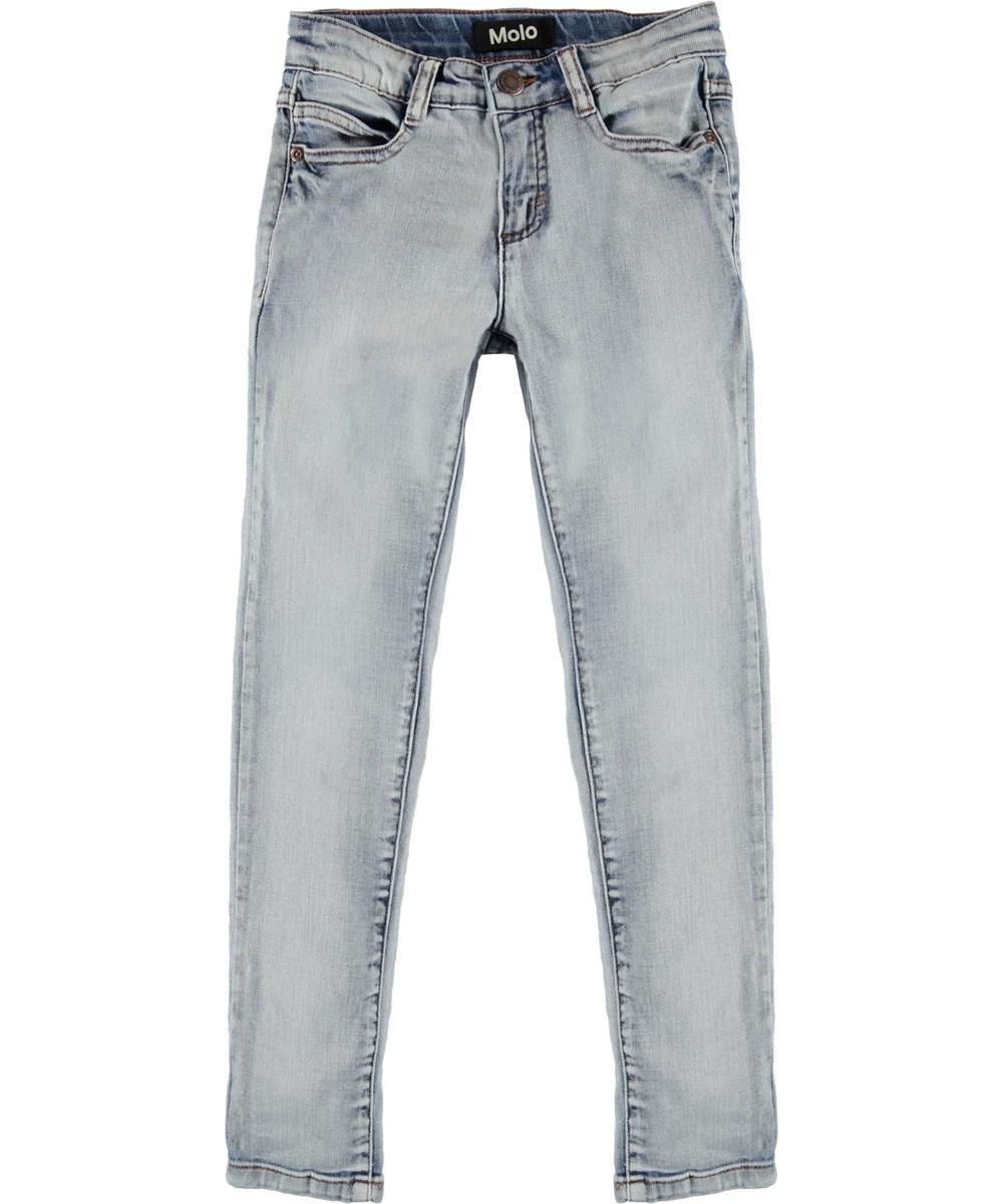 Adele - Heavy Blast - Washed blue denim jeans