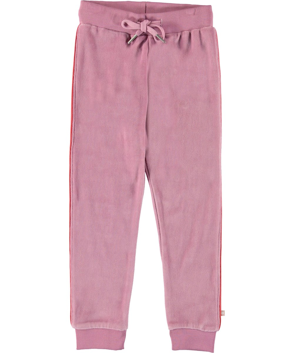Adina - Purple Haze - Sporty rose sweatpants.