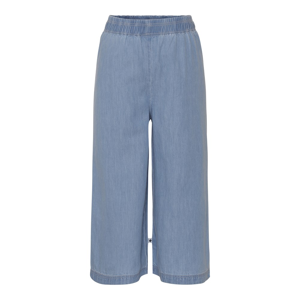 Ajais - Summer Wash Indigo - Trousers