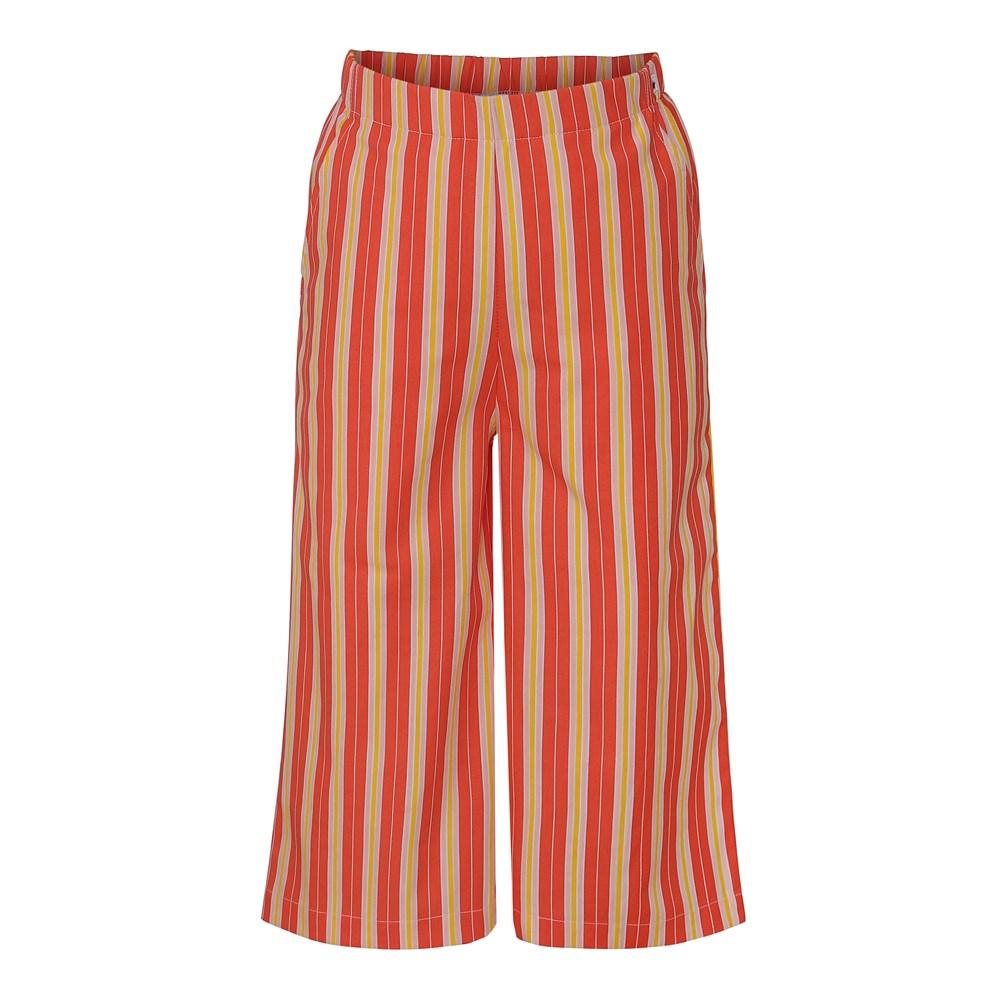 Alanis - Coral Sunrise Stripe - Trousers