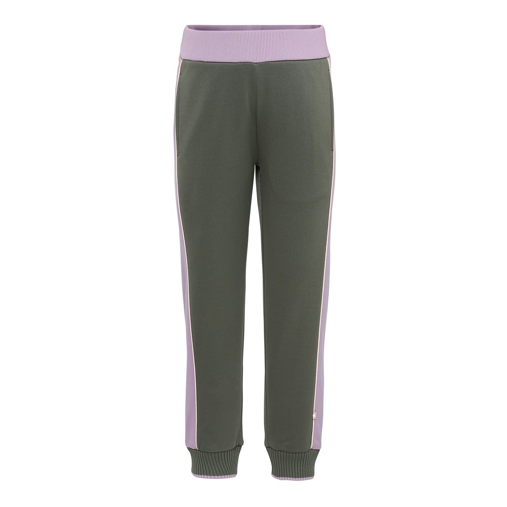Aldora - Evergreen - Two coloured sweatpants.