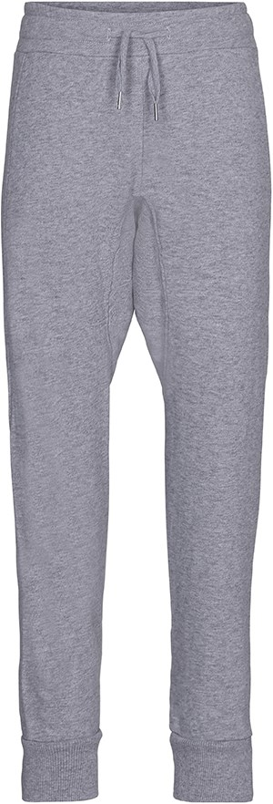 Alexisa - Grey Melange - Grey, loose fit sweatpants