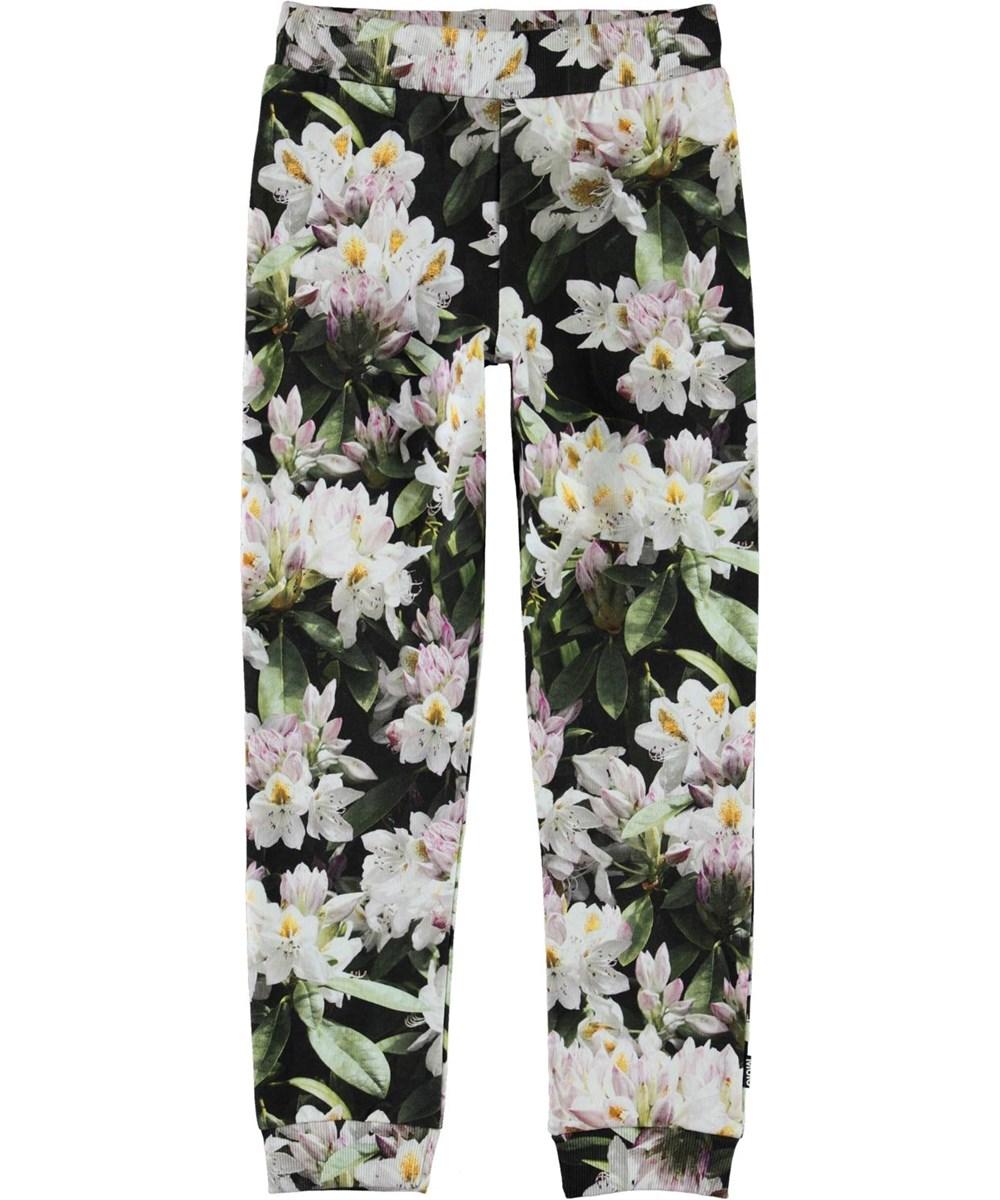 Alfrida - Pretty Puppy AOP - Floral sweatpants