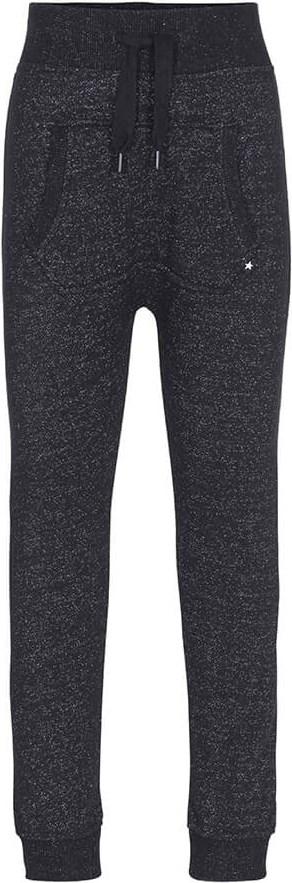 Aliki - Black - Black sweatpants with glitter