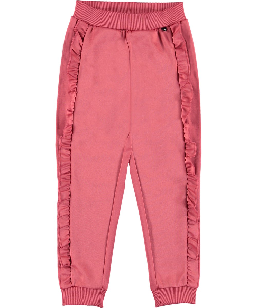 Aline - Fairy Blossom - Sporty rose Track pants.