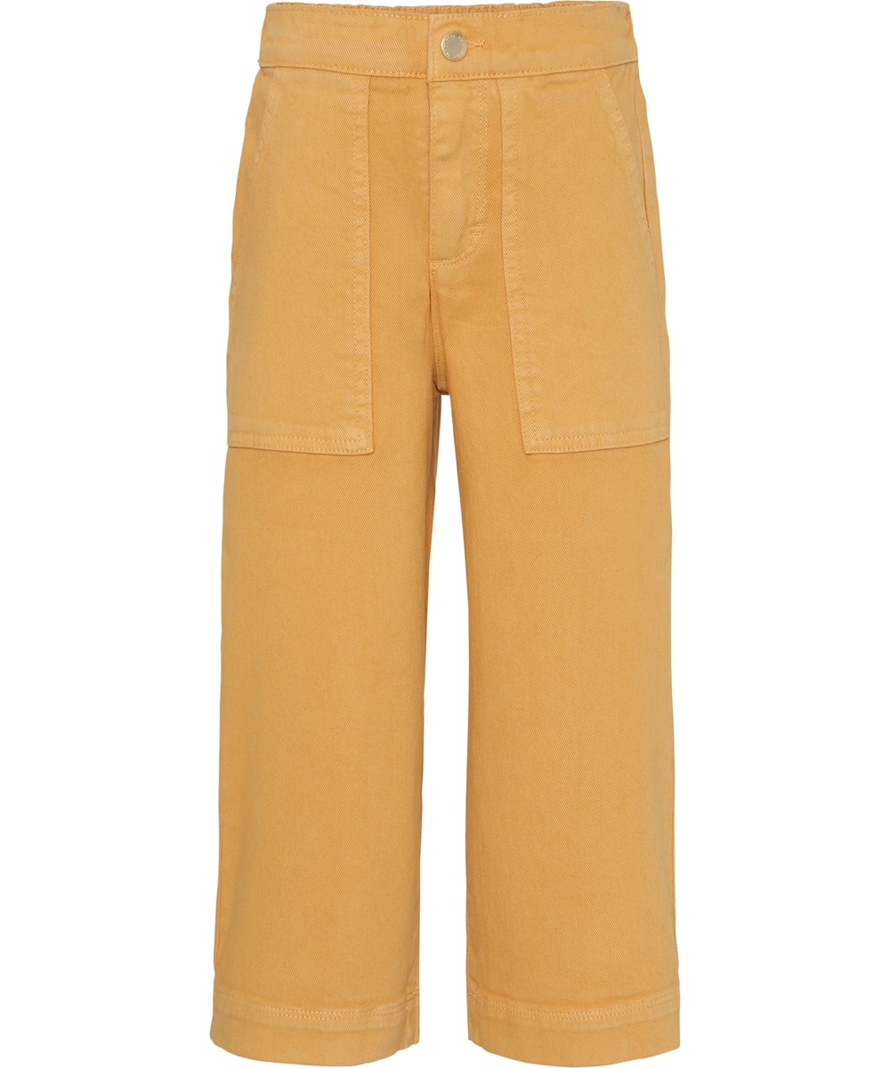 Alyna - Afternoon Sun - Yellow culotte trousers