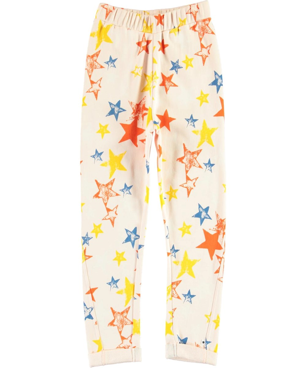 Alysie - Super Stars - Organic sweatpants with star print