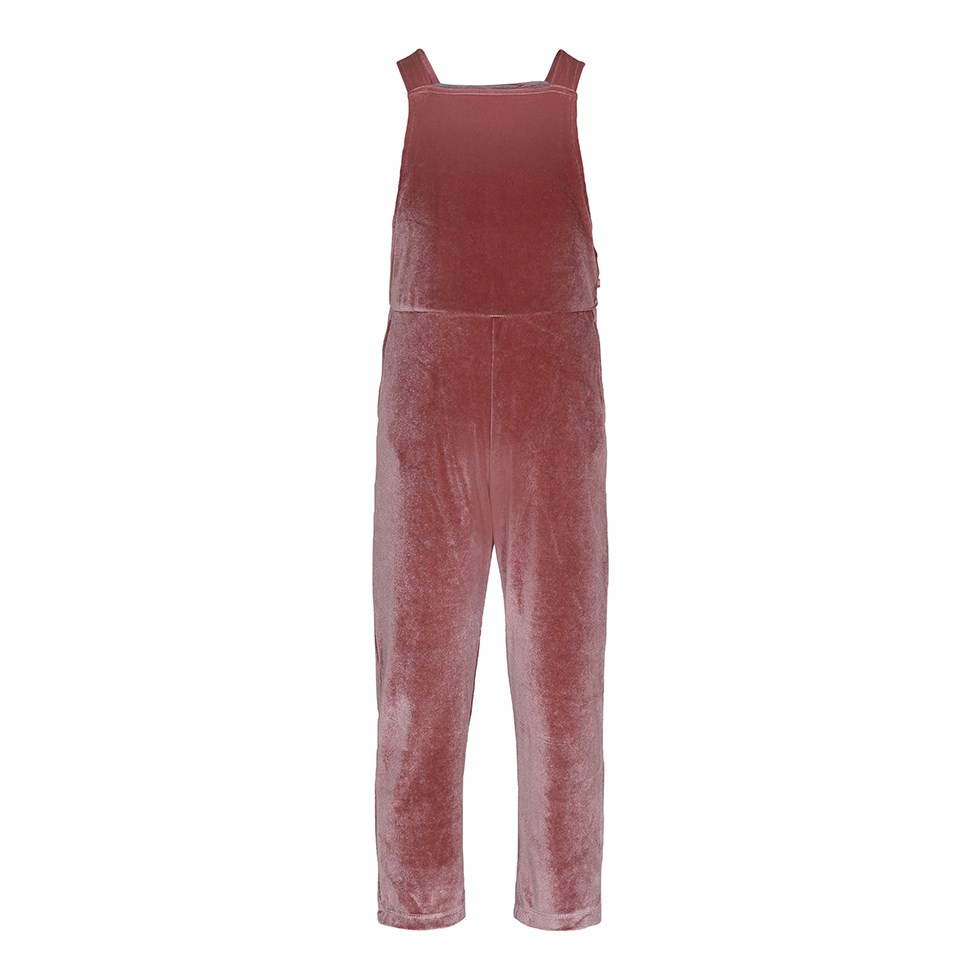 Amber - Autumn Berry - Jumpsuit in a dark rose colour