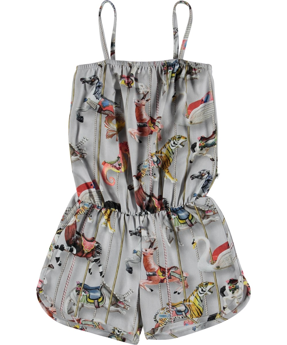 Amberly - Carousel - Playsuit