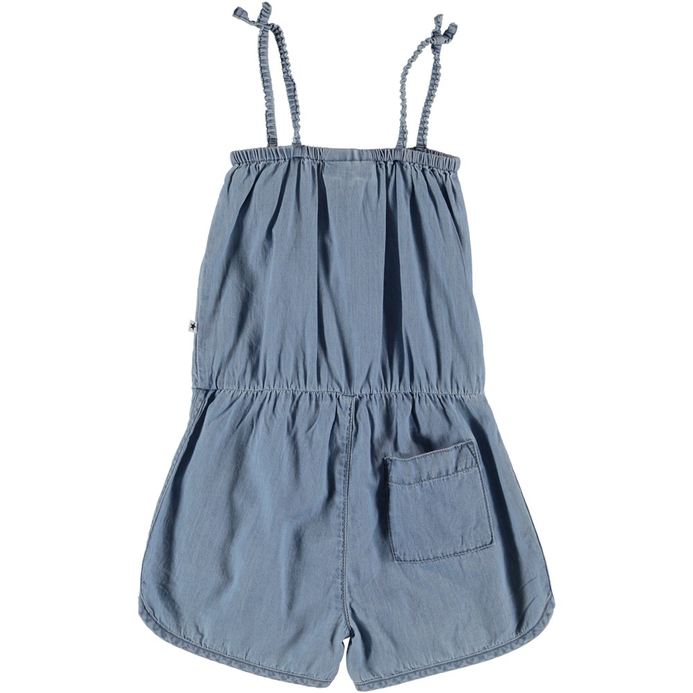 Amberly - Summer Wash Indigo - Playsuit