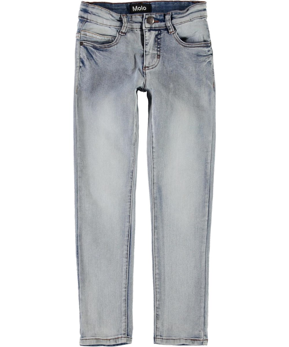 Angelica - Heavy Blast - Grey-blue slim denim jeans