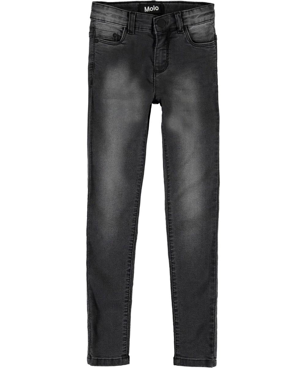 Angelica - Washed Black - Grey slim fit jeans
