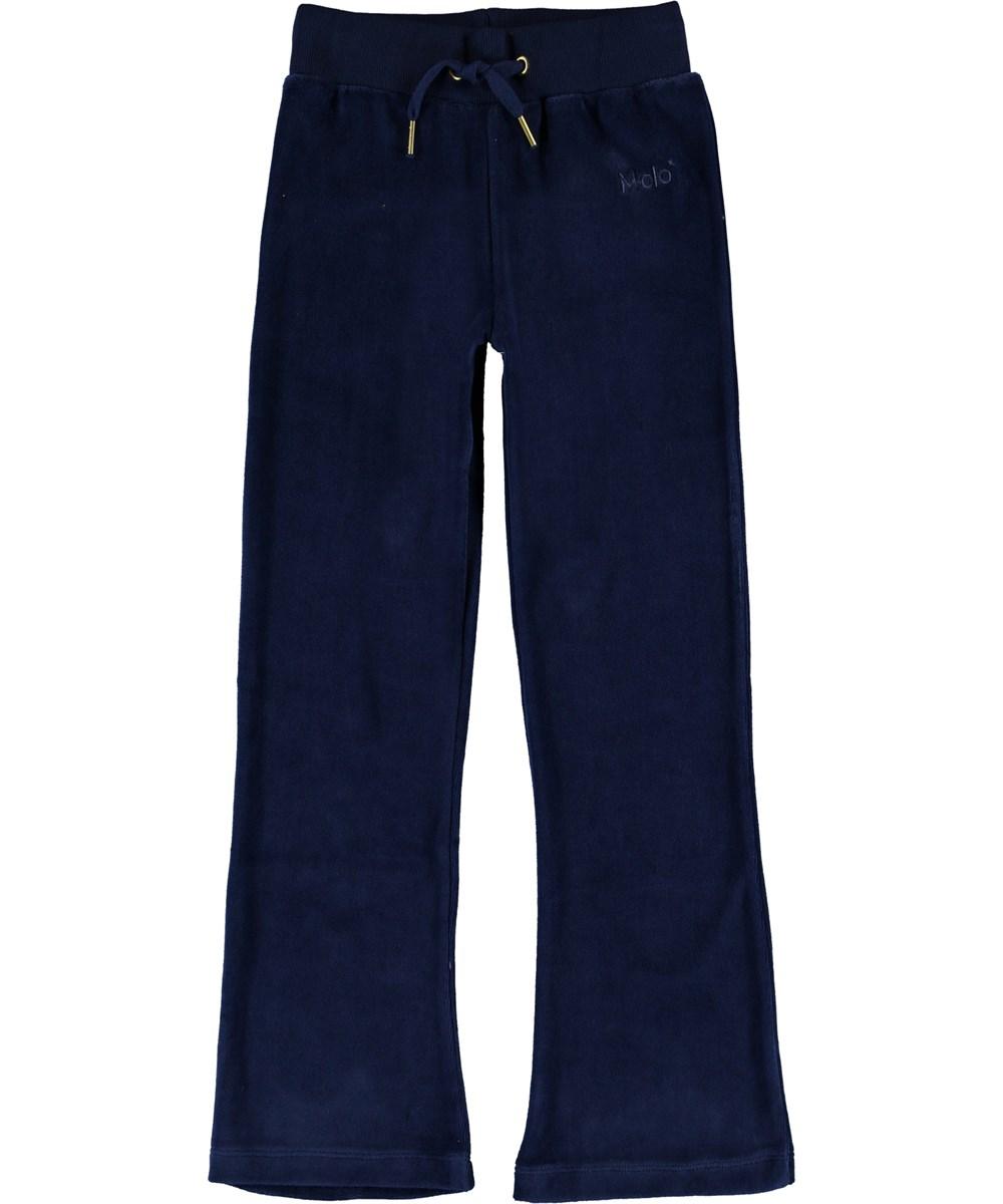 Annie - Ink Blue - Dark blue sweatpants