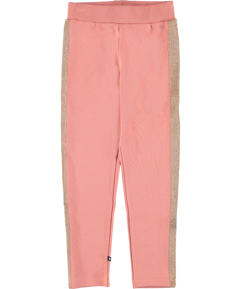 Antonia - Rosewater - Sporty pink sweatpants.