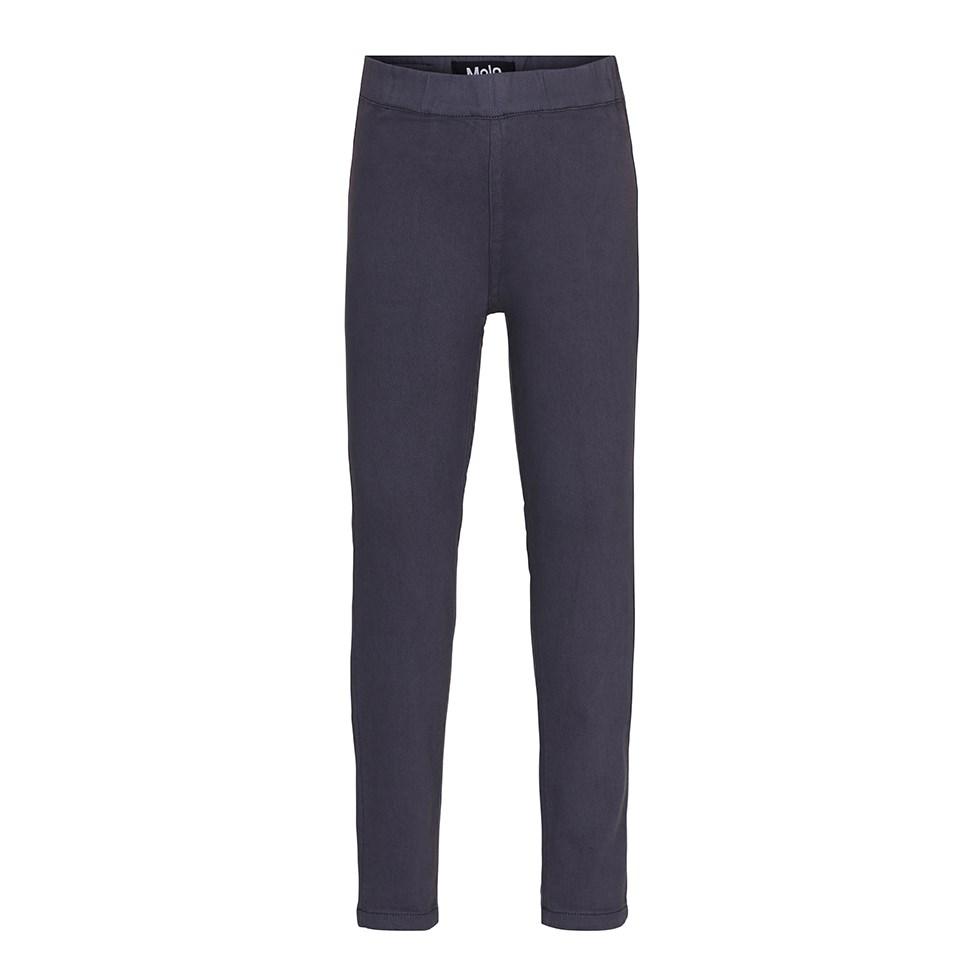 April - Dove Grey - Dark grey jeggings with elastic waist