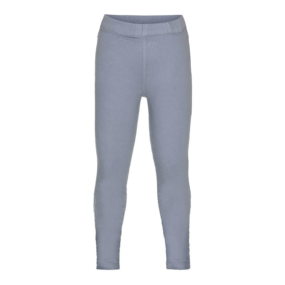 April - Grey Sky - Grey jeggings with elastic waist