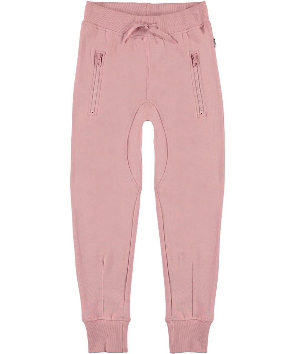 Ashley - Rosequartz - Pink organic sweatpants
