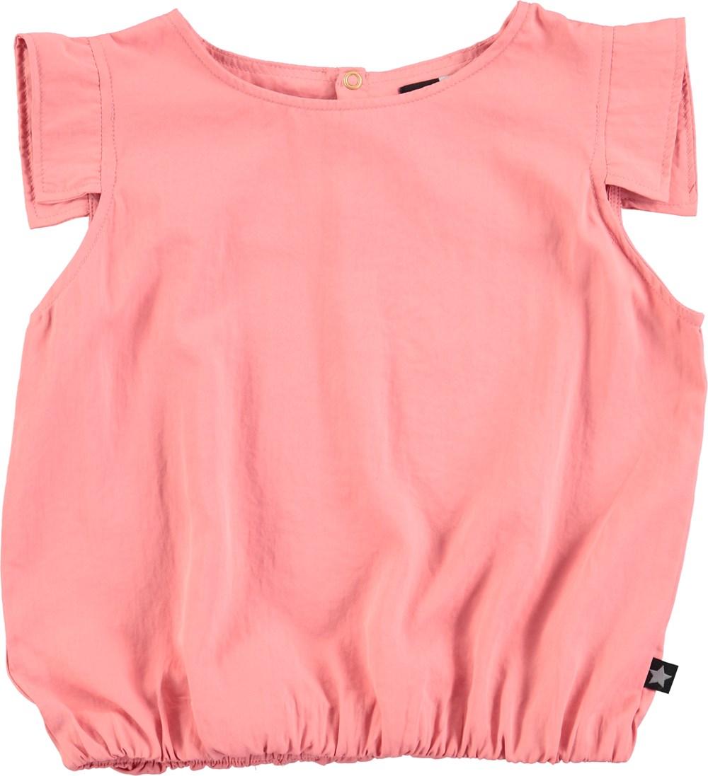 Raquel - Spicy Pink - pink, oversized top