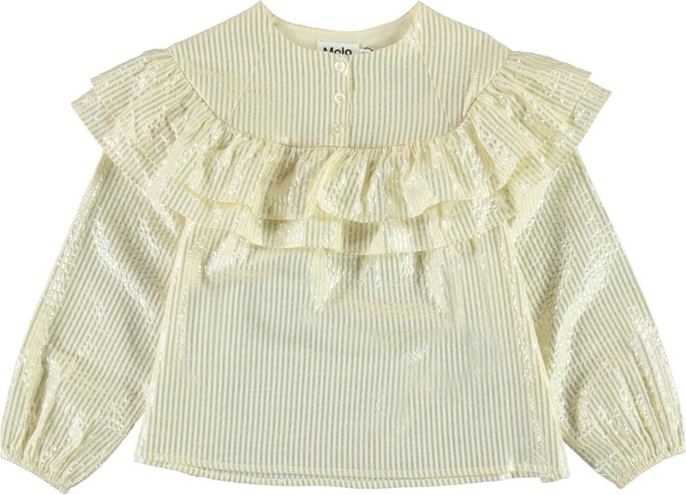 Rexanna - Marzipan - Light yellow shirt