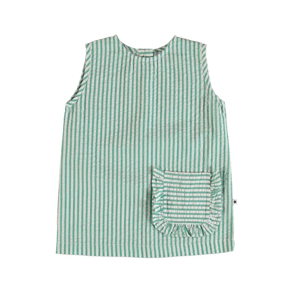 Rosalle - Green Stripe - Rasalle Top - Green Stripe