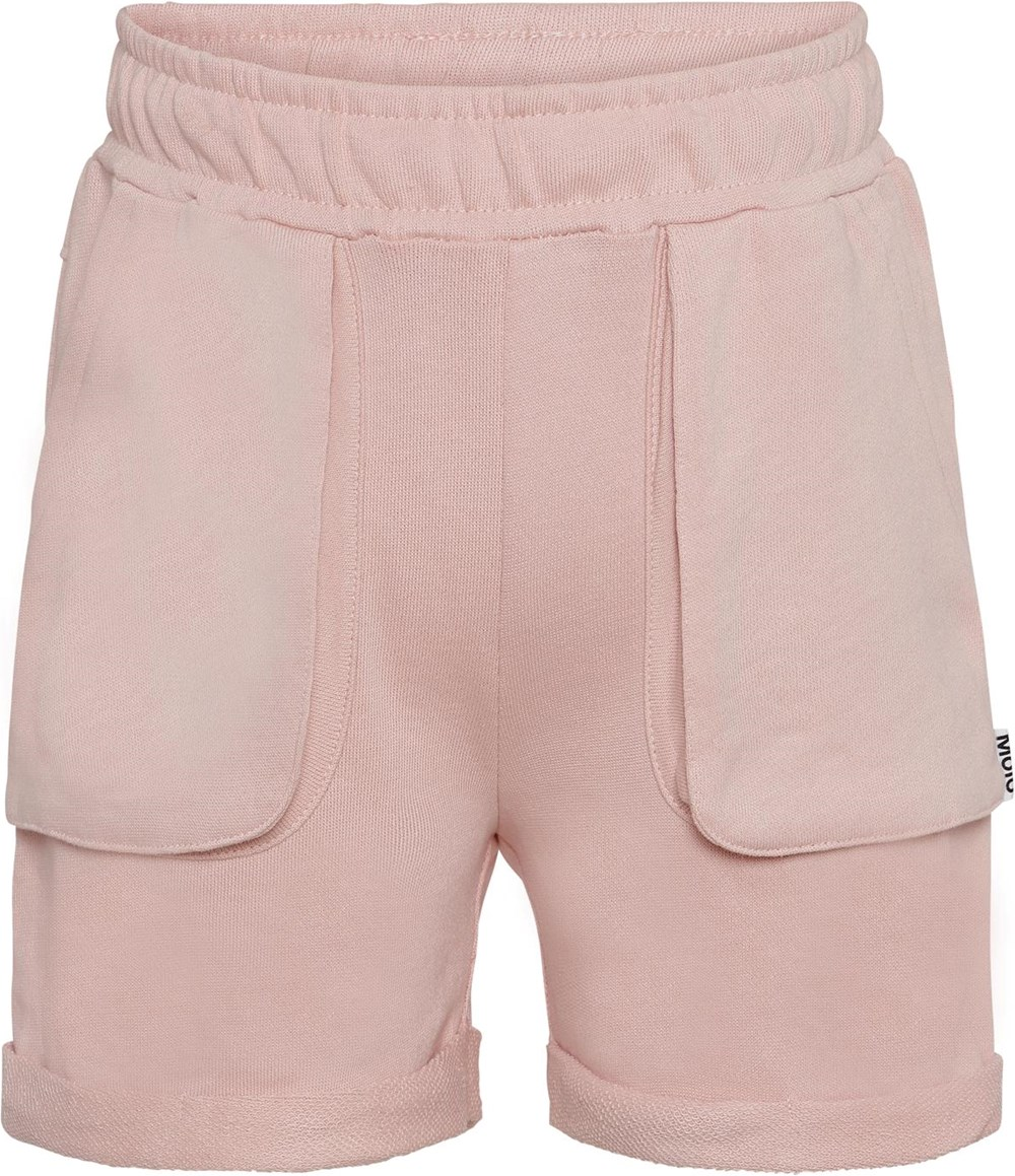 Ara - Petal Blush - Rose sweatshorts