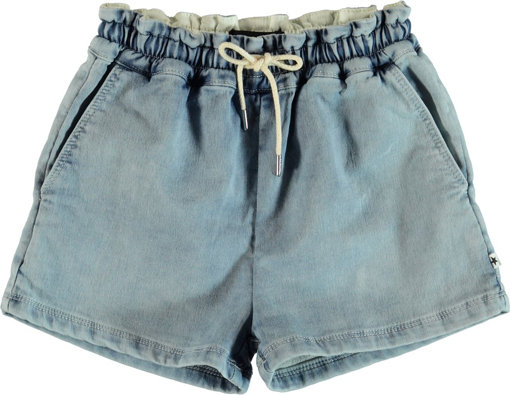 Arabella - Contrast Bleach - Shorts - Contrast Bleach