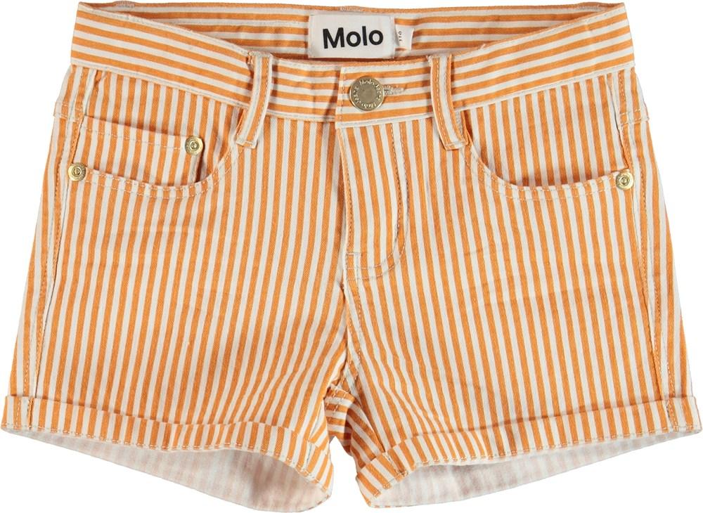 Audrey - Orange Stripe - Shorts
