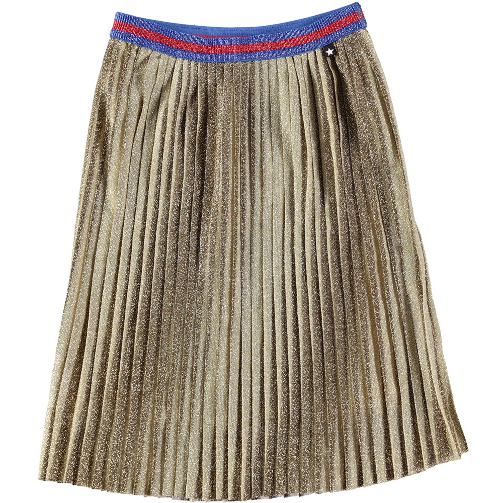 Bailini - Gold - Gold-coloured midi skirt